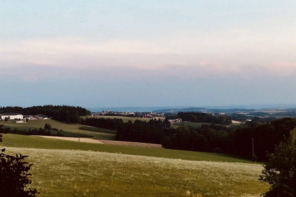 Ausblick Ferienhof Neundlinger